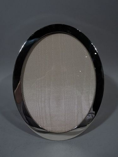 Tiffany Sterling Silver Modern Oval Picture Frame