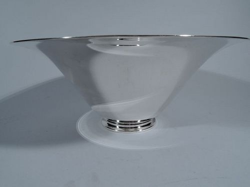 Tiffany Art Deco Modern Sterling Silver Centerpiece Bowl