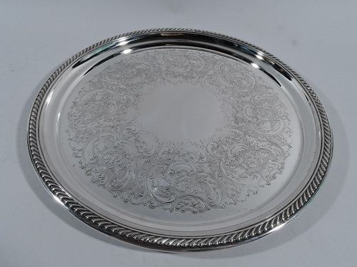 Traditional Gorham Sterling Silver Serving Tray