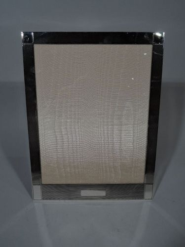 Cartier Art Deco Modern Sterling Silver Picture Frame
