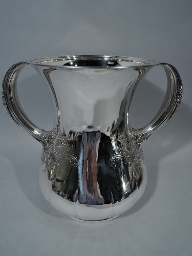 Large and Heavy Antique Sterling Silver Trophy Cup by Tiffany