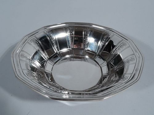 Tiffany Art Deco Sterling Silver Bowl