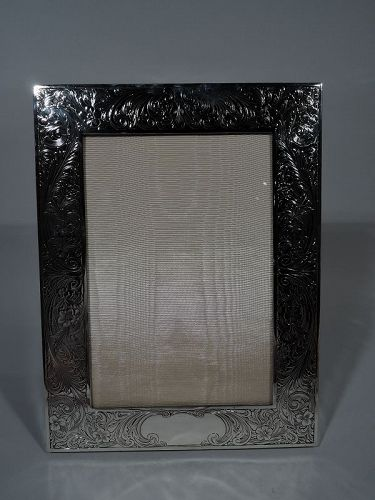 Antique Gorham American Edwardian Sterling Silver Picture Frame