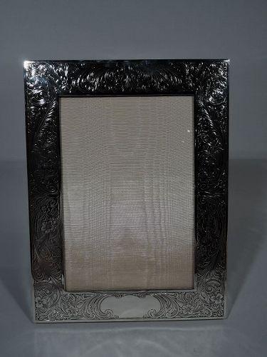 Antique Gorham American Edwardian Sterling Silver Picture Frame