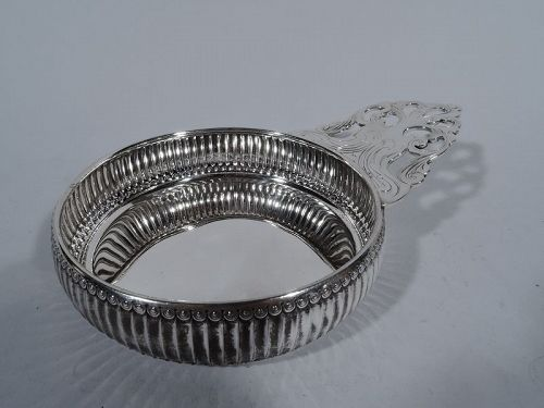 Unusual and Antique Tiffany Sterling Silver Porringer
