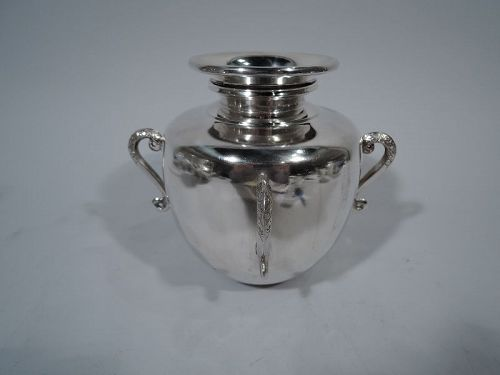 Contemporary Indian Sterling Silver Vase