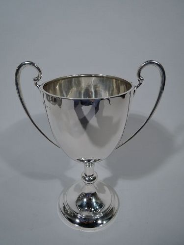 Antique English Sterling Silver Trophy Cup 1932