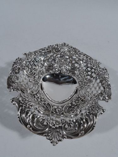 Super Fancy Sterling Silver Valentine's Day Heart Dish by Tiffany
