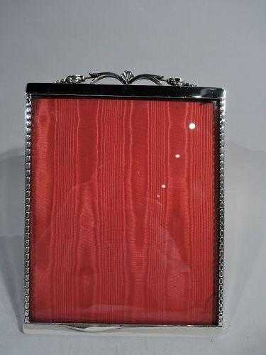 La Paglia Sterling Silver Picture Frame in Jensen Blossom Style