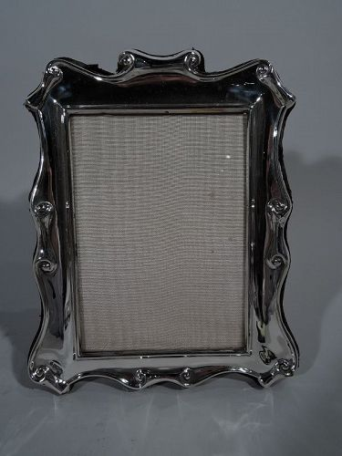 silver antique picture frames. Modern English Sterling Silver Strapwork Picture Frame Antique Frames