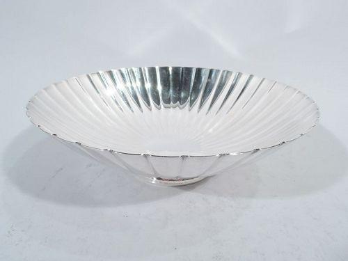 Midcentury Modern Sterling Silver Bowl by Georg Jensen