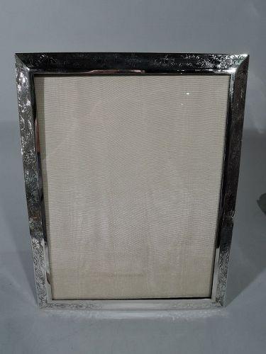 Antique Kerr Art Nouveau Sterling Silver Picture Frame