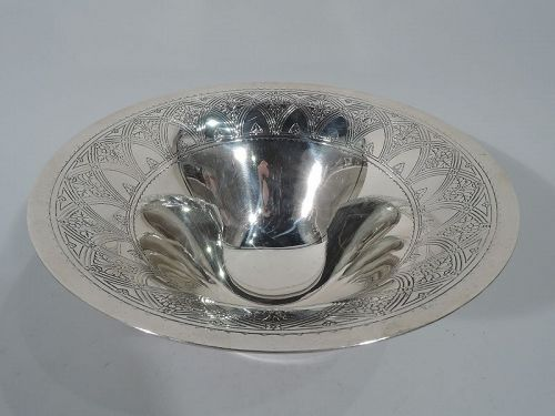 Antique Tiffany Art Deco Sterling Silver Centerpiece Bowl