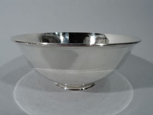 Arthur Stone Hand Made Craftsman Sterling Silver Bowl