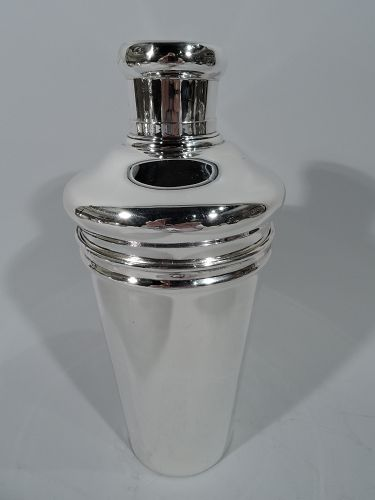 Antique Tiffany Sterling Silver Cocktail Shaker