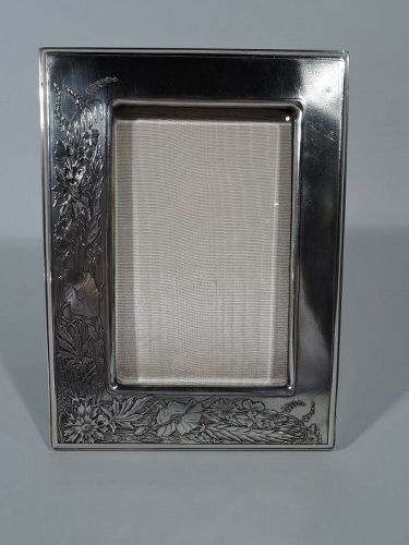 Wonderful Tiffany Art Nouveau French Silver Picture Frame
