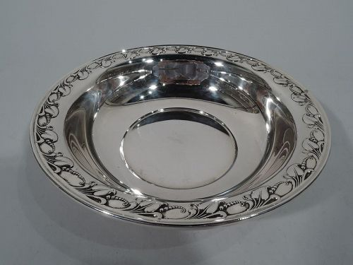 Georg Jensen USA Midcentury Modern Sterling Silver Bowl