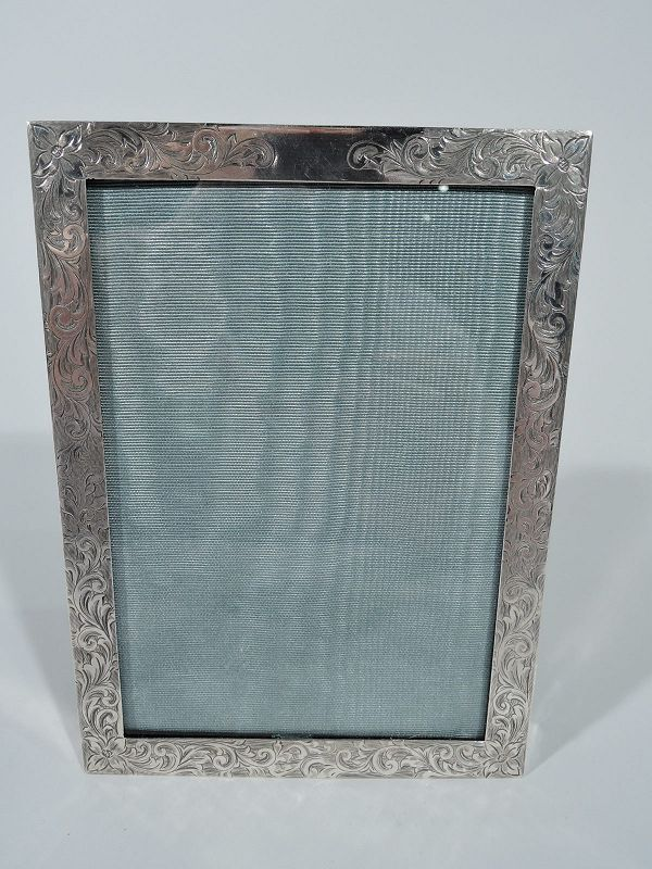 Edwardian Sterling Silver Picture Frame