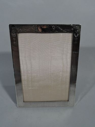 Antique Sterling Silver Picture Frames | Nelson and Nelson Antiques