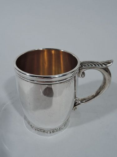 Antique American Sterling Silver Baby Cup by Durgin