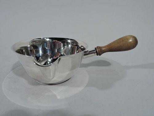 Tiffany Midcentury Modern Sterling Silver Pipkin