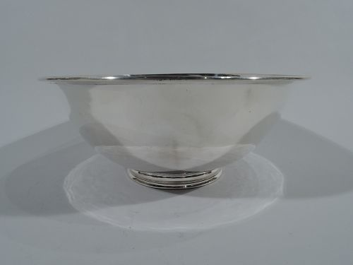 Arthur Stone Craftsman Hand Hammered Sterling Silver Bowl