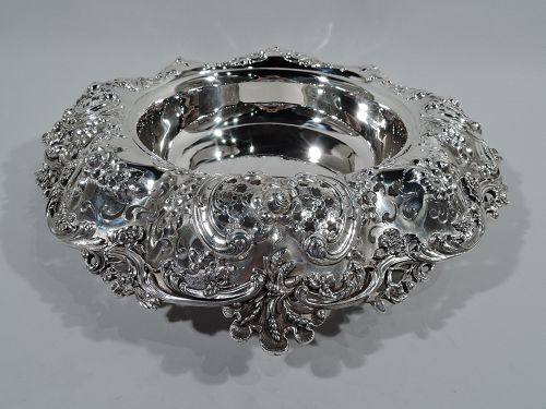 Gilded Age Sumptuous Sterling Silver Centerpiece Bowl by Tiffany