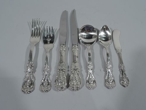 Reed & Barton Francis I Sterling Silver Set for 12 with 88 Pieces