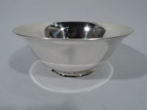 Georg Jensen Inc. USA Hand Wrought Sterling Silver Revere Bowl