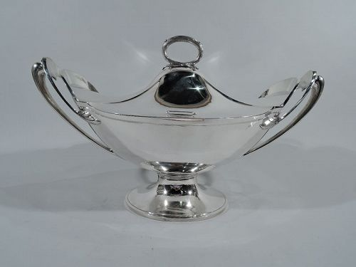 Fabulous Gorham Aesthetic Coin Silver Covered Soup Tureen