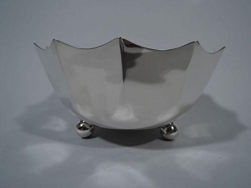 Tiffany Midcentury Modern Sterling Silver Bowl