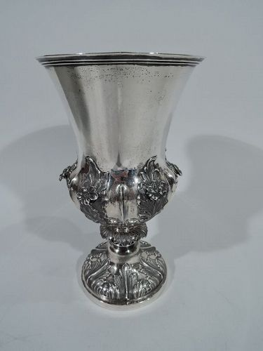 Indian Colonial Silver Chalice by Hamilton & Co.
