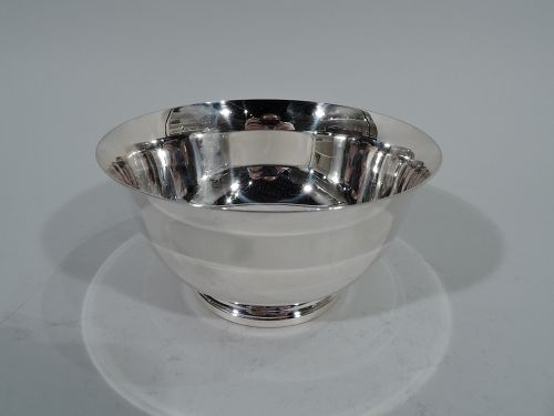 Colonial Revival Paul Revere Sterling Silver Bowl by Lunt