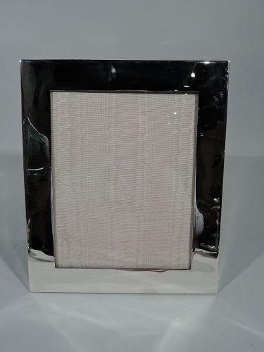 Stieff Midcentury Modern Sterling Silver Picture Frame