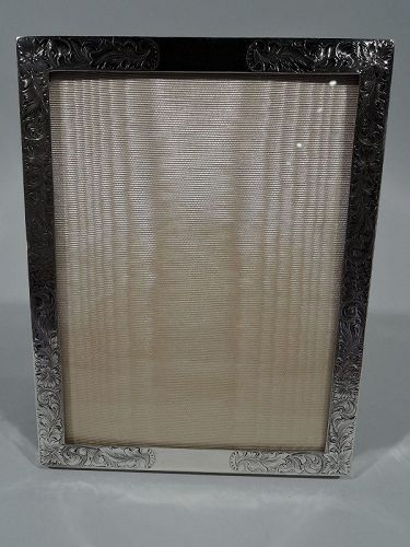 American Edwardian Sterling Silver Picture Frame by Meriden Britannia
