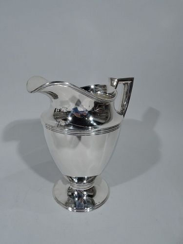 Tiffany Classic Sterling Silver Water Pitcher