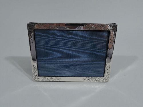 e0cac04de243 American Art Nouveau Picture Frame in Rare Landscape Form