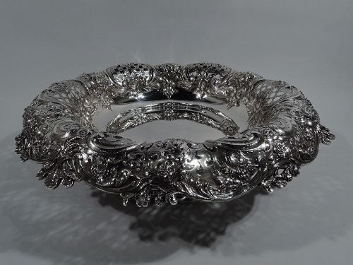 Heavy & Sumptuous Sterling Silver Centerpiece Bowl by Tiffany