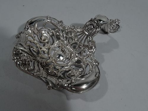Large Antique Gorham Classical Sterling Silver Bonbon Scoop