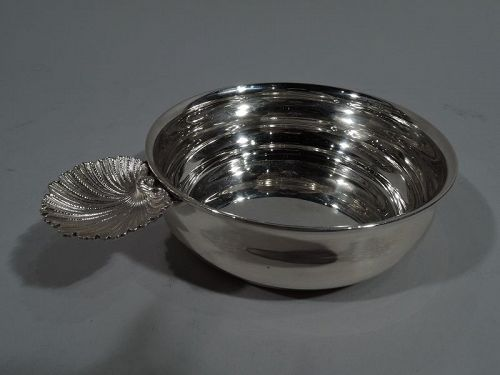 Italian Modern Classical Sterling Silver Porringer by Buccellati