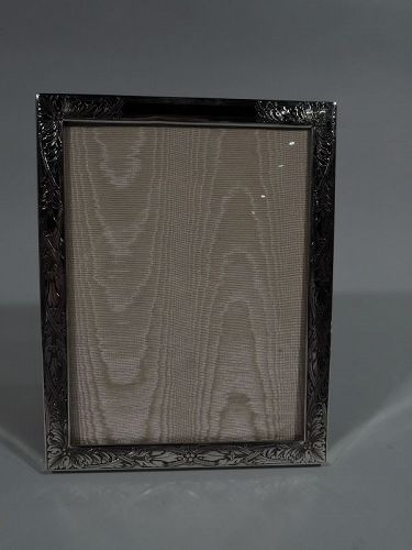 Lovely Kerr Art Nouveau Sterling Silver Picture Frame