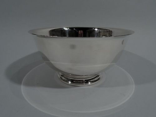 Traditional Sterling Silver Revere Bowl by International