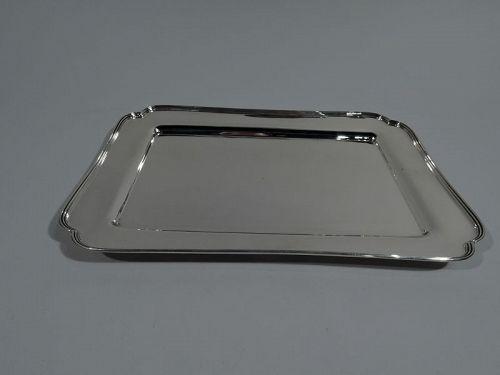 Tiffany American Modern Sterling Silver Rectangular Tray