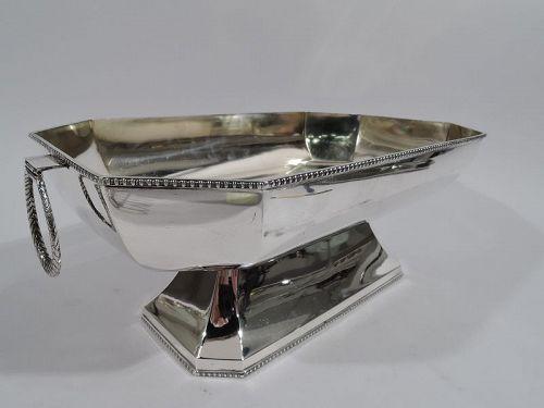 Austrian Art Deco Modern Classical Centerpiece Bowl
