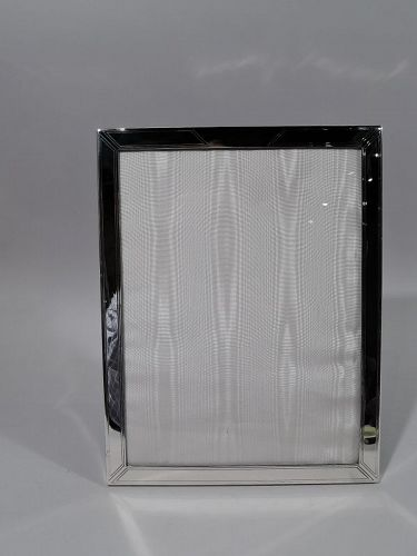 American Art Deco Sterling Silver Picture Frame