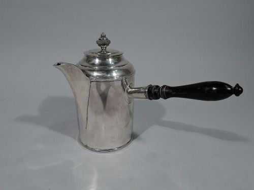 Antique European Silver Coffeepot C 1850