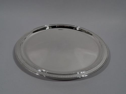 Tiffany American Art Deco Sterling Silver Serving Tray