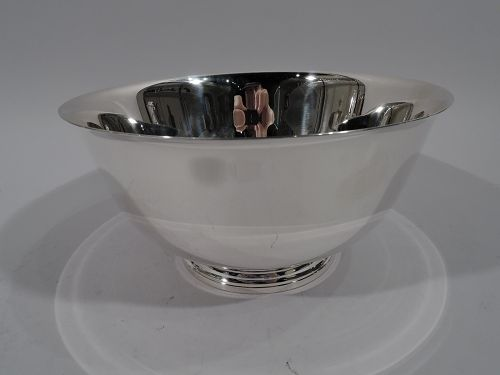 Traditional Sterling Silver Colonial Revival Revere Bowl by Tiffany