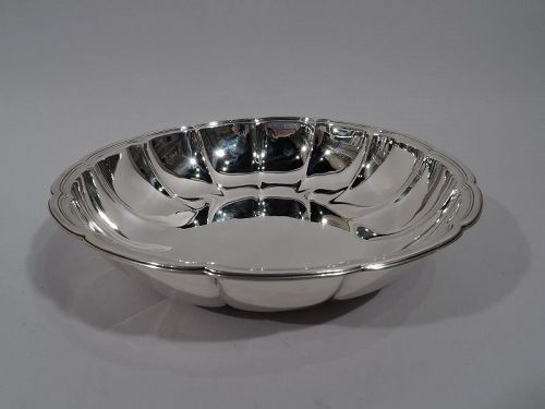 Pretty Antique American Sterling Silver Bowl by Tiffany C 1915