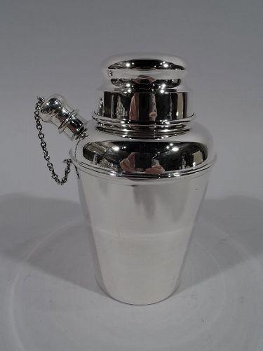 Reed & Barton Midcentury Modern Sterling Silver Mini Martini Shaker